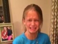 Reactia neasteptata pe care o are o fetita in momentul in care isi primeste cadoul de ziua ei de la parinti. VIDEO