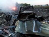 Sistem de rachete Buk, vazut in 17 iulie in zona unde s-a prabusit avionul MH17 Malaysia Airlines. Ar fi fost operat de RUSI
