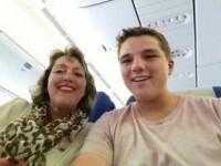 Povestea baiatului care a facut ultimul selfie in avionul prabusit in Ucraina, cu cateva minute inainte de decolare