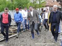 Victor Ponta: Vom aloca bani pentru lucrari rapide in judetele Gorj, Valcea si Arges, afectate de inundatii