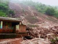 O uriasa alunecare de teren a inghitit 44 de case, in vestul Indiei. Cel putin 19 oameni si-au pierdut viata