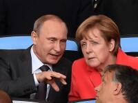 Vladimir Putin si Angela Merkel au discutat despre livrarea de gaze rusesti catre UE. Ce au convenit cei doi lideri