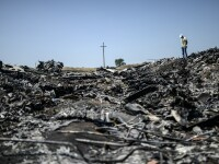 Catastrofa aviatica din Ucraina. Explozii puternice in zona prabusirii avionului, dupa sosirea expertilor internationali