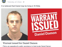 Politistii au publicat o fotografie pe Facebook pentru a-l localiza. Cum a reactionat infractorul cand si-a vazut chipul