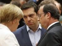 Merkel, Tusk si Hollande