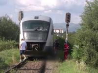 Neatentia l-a costat viata pe un barbat din Sibiu. A fost lovit de tren, iar impactul i-a fost fatal