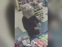 Un individ deghizat intr-un soarece urias a jefuit in magazin din Canada. Ce s-a descoperit la fata locului dupa cateva clipe