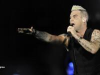 Mesajul lui Robbie Williams dupa concertul de la Bucuresti.