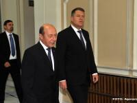 Mesajul lui Traian Basescu pentru presedintele Klaus Iohannis: