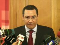 Premierul Ponta si-a inceput ziua in carje si a sfarsit-o in baston. De ce a dat vina pe televizor