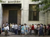 Situatie CRITICA pentru bancile din Grecia. Limitele privind retragerile de numerar, mentinute cateva LUNI