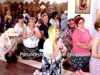 Rugaciuni pentru ploaie in toate bisericile din tara. Credinciosii considera canicula drept