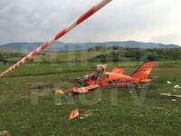 Un zbor de placere s-a transformat in cel mai mare cosmar al lor. Explicatia pilotului pentru accidentul aviatic din Sibiu