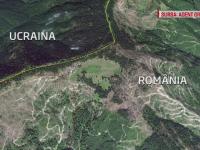 Imagini alarmante: au facut din satelit mai multe fotografii la granita Romaniei cu Ucraina. Ce s-a vazut in poze