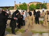 Statul Islamic a fiert de vii 7 jihadisti care au fugit din timpul unui atac in Irak. Imaginile tulburatoare aparute in presa