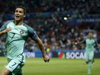 PORTUGALIA - TARA GALILOR . Gol Ronaldo