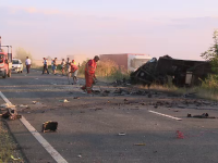 Accident cu doi morti pe o sosea din Arad. Tanarul care l-a provocat fusese condamnat la inchisoare cu doar o zi inainte