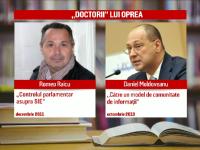 Noua nume celebre din Romania vor sa renunte la titlul de doctor. Toti l-au avut indrumator pe Gabriel Oprea