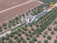 25 de morti si 50 de raniti dupa ce doua trenuri s-au ciocnit in Italia.