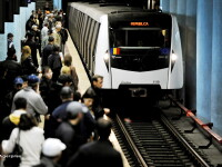 Un barbat s-a aruncat peste linii in statia de metrou Constantin Brancoveanu: