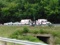 Imaginea macabra surprinsa imediat dupa un accident in care un motociclist a murit. Un detaliu le-a dat tuturor fiori