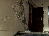 Explozie urmata de incendiu la un bloc din Barcanesti. O femeie a suferit arsuri pe 60% din suprafata corpului