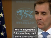 Cum a ajuns Pokemon Go subiect de discutie la Departamentul de Stat al SUA.