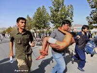 Atentat in Kabul in timpul unui protest: cel putin 80 de persoane au fost ucise si 231 ranite. Atacul, revendicat de ISIS
