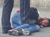 Atacatorul sirian, care a ucis cu o maceta o femeie insarcinata si a ranit alte 2 persoane, oprit de un sofer cu BMW