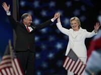 Hillary Clinton, prima femeie nominalizata de un partid politic drept candidata la presedintie. Ironiile adresate lui Trump