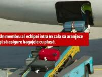 Incident tragi-comic pe Aeroportul Otopeni. Un angajat de la bagaje, uitat de colegi in cala unei aeronave Blue Air
