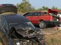 Grav accident in Vrancea. Doi morti si patru raniti, dupa ce soferul unui Audi ar fi intrat pe contrasens