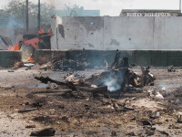 Jihadistii au luat cu asalt sediul central al Politiei din Mogadishu. Cel putin 7 morti in urma atacului. FOTO si VIDEO