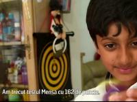 Un copil englez de 11 ani i-a depasit cu 2 puncte, la testul Mensa, pe Einstein si Hawking. Care sunt pasiunile sale