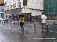 Cod galben de furtuni in jumatatea de vest a Romaniei si arsita in restul tarii. Prognoza meteo pana la finalul saptamanii