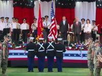 Ziua Americii - Receptie cu tema sportiva la Ambasada SUA in Romania. Trump, adus in discutie de 10 ori de Iohannis si Klemm