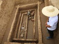 Un cimitir in care au fost ingropati