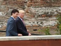 Theresa May si Justin Trudeau incearca sa il convinga pe Trump sa adere din noua la Acordul asupra climei de la Paris