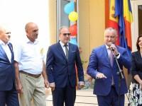 Romania a renovat gradinita din satul natal al presedintelui Moldovei. Dodon multumeste pentru