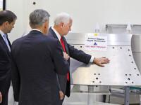 Val de ironii online dupa ce vicepresedintele american a pus mana pe un echipament NASA pe care scria