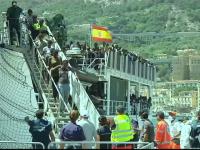 85.000 de migranti au ajuns in Italia in 2017. Localnicii sunt coplesiti, iar refugiatii, nemultumiti: \