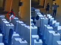 Paguba de 200.000 de dolari din cauza unui selfie. O tanara, filmata in timp ce distruge piese de arta moderna. VIDEO