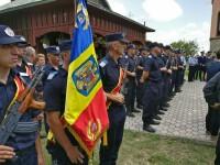 Sorin Vezeteu, politistul injunghiat mortal, a fost inmormantat. Mesajul primarului pentru ministrul Carmen Dan