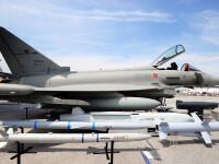 Un Eurofighter Typhoon a decolat din baza Mihail Kogalniceanu pentru a intercepta doua avioane rusesti deasupra Marii Negre