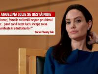 Angelina Jolie, destainuiri despre viata de dupa despartirea de Brad Pitt. Actrita a suferit de o paralizie faciala