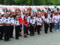 Ambulanta din Romania a implinit 111 ani. Parada a salvatorilor in centrul Capitalei