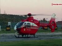Bebeluș din Vaslui, transportat la spital cu elicopterul. A fost rănit cu ceai fierbinte
