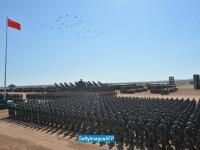Parada militara impresionanta in China. Mesajul transmis de presedintele Xi Jinping