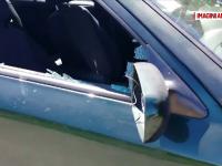 Mașina unui consilier din Slatina, vandalizată. Pagubele produse