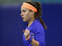 Gabriela Ruse a fost eliminată de Agneiszka Radwanska după ce a ratat şase mingi de meci